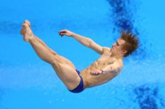 Jack Laugher finished eighth in the 3m Springboard