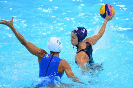 London 2012 Day Thirteen Women's Water Polo GB vs Italy
