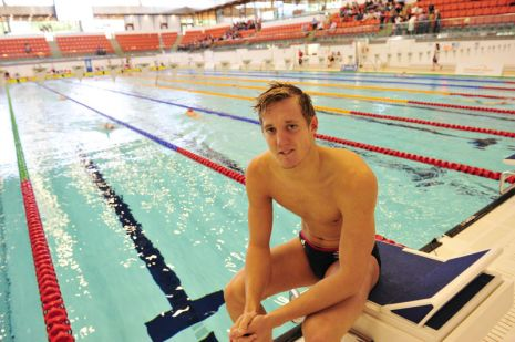 British swimmers prepare for London 2012