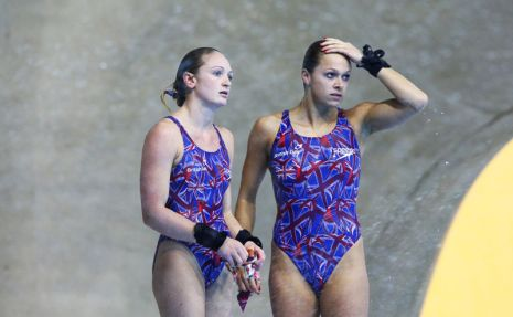 Barrow and Couch win bronze at 2012 Diving World Cup