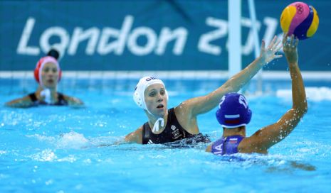 London 2012 Day Three Women's Water Polo GB vs Russia