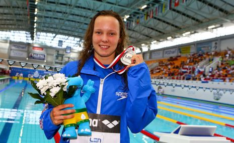 European Junior Swimming Championships 2013 Day Two