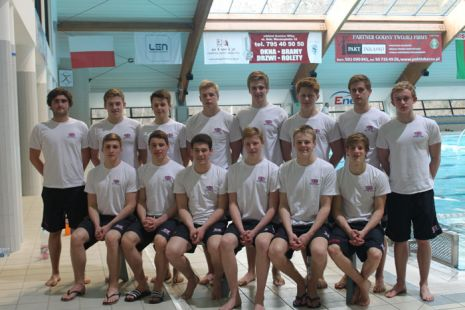 Men's Junior GB Water Polo at the Slowianka Cup 2013