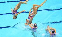 London 2012 Day Thirteen Synchro Team Technical Preliminary