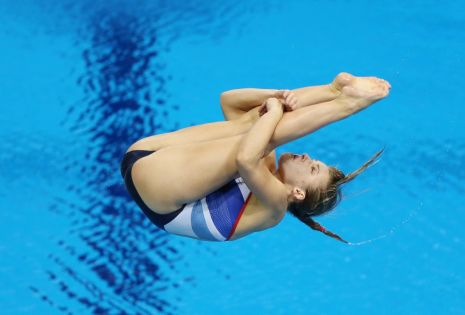 London 2012 Day Seven Women's 3m Diving Prelims