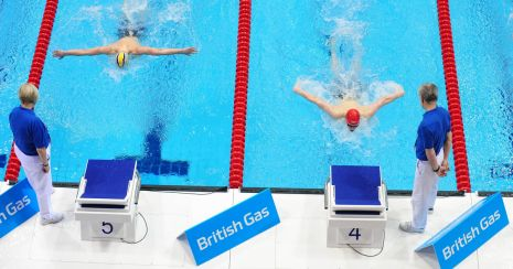 British Gas Swimming Championships 2012 Day Three Heats