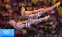 London 2012 Day Three Men's 10m Synchro Diving
