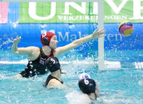 European Water Polo Championships 2012: Great Britain 10 - 15 Russia