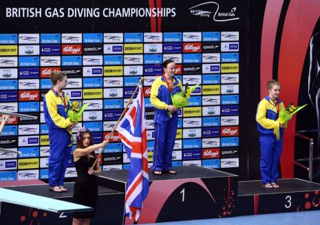 Day Three at the 2012 British Gas Diving Championships