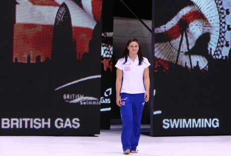 British Gas Swimming Championships 2012 Day Eight Finals and Athlete Parade