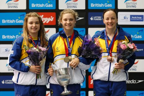 British Gas Diving Championships 2014 Day Three