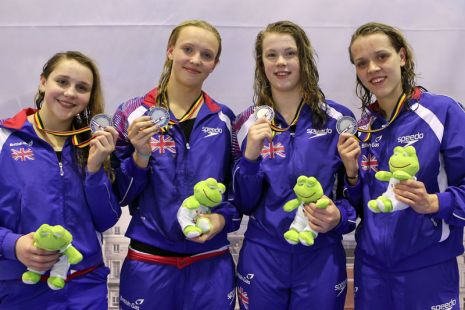European Junior Swimming Champs 2012 Day Two