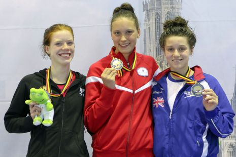 European Junior Swimming Champs 2012 Day Three