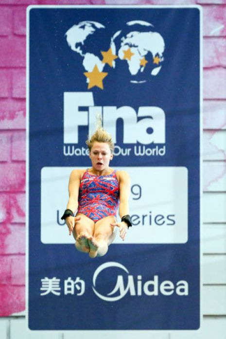 Edinburgh Diving World Series 2013 Day Three