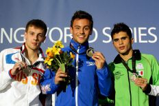 Men's 10m Platform Medallists