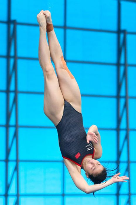 FINA/NVC Diving World Series 2014 Day Two