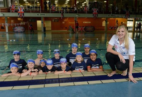 British Swimming Heroes Tour: Ealing
