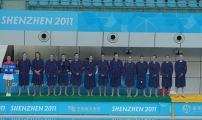 British Gas GBR Women's Water Polo team at the 2011 World University Games in Shenzhen