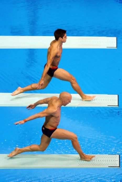 London 2012 Day Five Men's 3m Synchro Diving