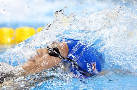 Swimming at the 2011 World Championships - Day Two