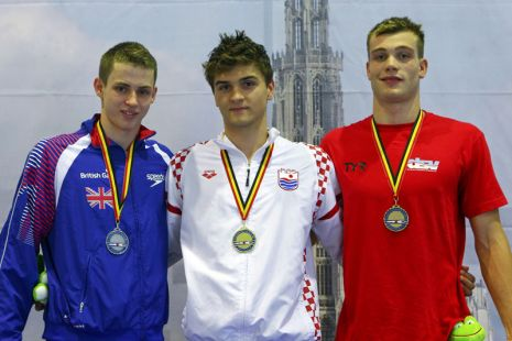European Junior Swimming Champs 2012 Day One