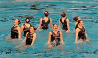British Gas Synchronised Swimming Championships 2013 Day One