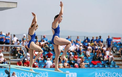 World Aquatics Championships 2013 Day One