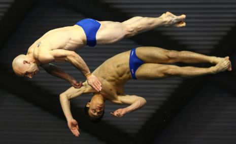 FINA / Midea Diving World Series 2011 at Ponds Forge, Sheffield