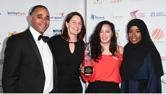 Alice Tai wins Young Sportsperson of the Year award