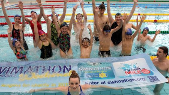 2012… the year to make a Big Splash for charity!