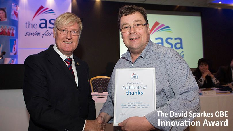 The David Sparkes OBE Innovation Award