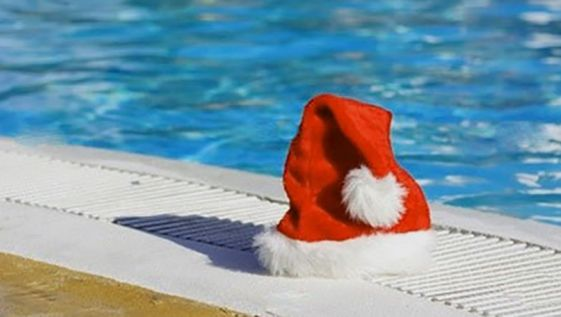 Thousands of swimmers take part in Festive swims