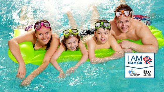 Try the aquatics sports for free with 'I Am Team GB'