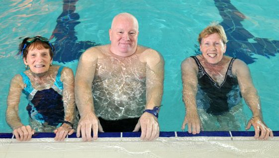 Try out your local pool… it's a great place to get fit or just relax