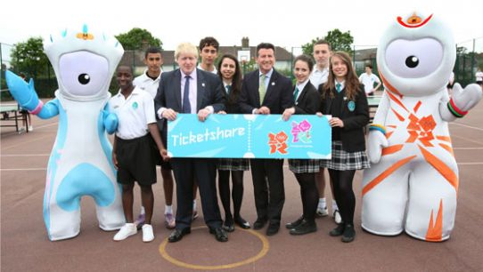 Is your school registered to win free tickets to the Olympic and Paralympic Games?