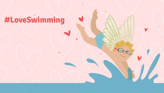 Fall in love with swimming this Valentine's Day